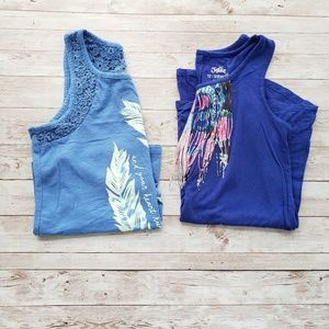 2 Justice tank tops